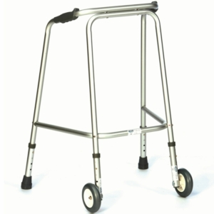 Ultra Narrow Walking Zimmer Frame - With Wheels