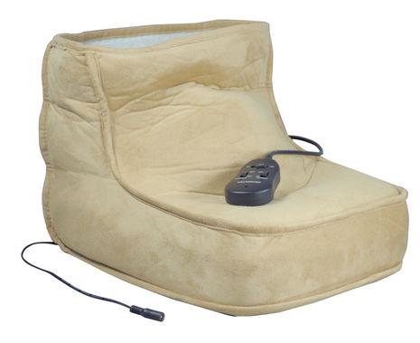 Aidapt Electric Dual Speed Soft Massaging Foot Boot with Heat - VM949J