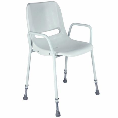 Aidapt Milton Shower Chair White - VB499S