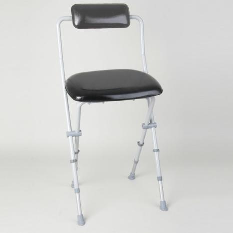 Fine Homecraft Sherwood Folding Perching Stool With Back 091310853 Machost Co Dining Chair Design Ideas Machostcouk