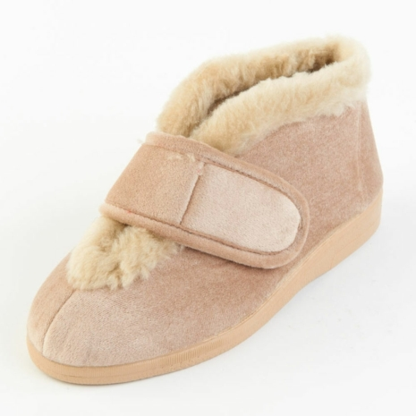 aa9a9f6e2983b Sandpiper Val Ladies Slipper Natural - Various Sizes | Sheffield ...