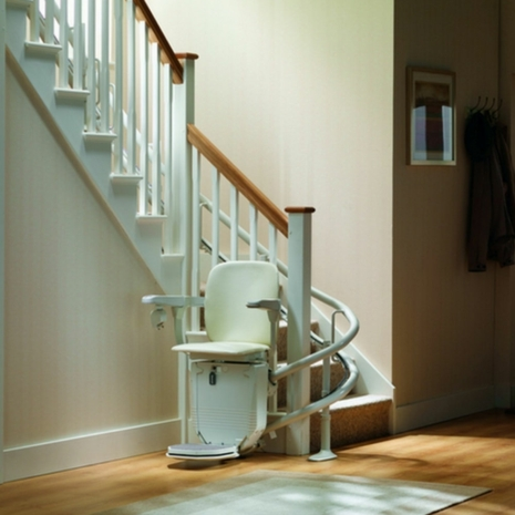Stannah Siena 260 Curved Stairlift