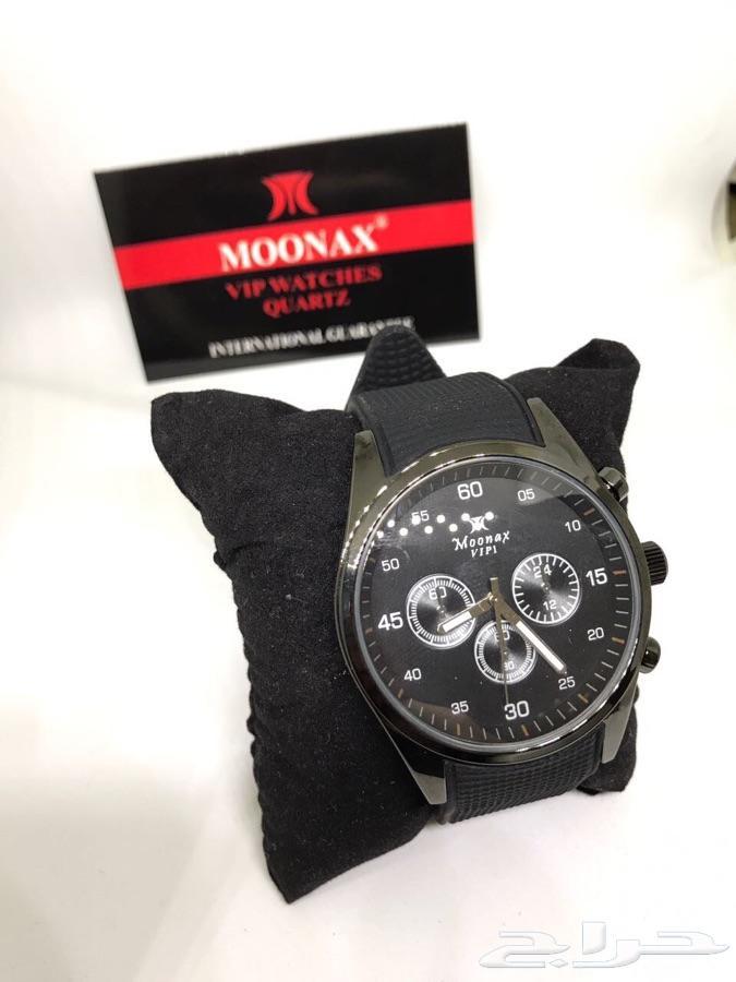 للبيع ساعة moonax الجديدة وأنيقة