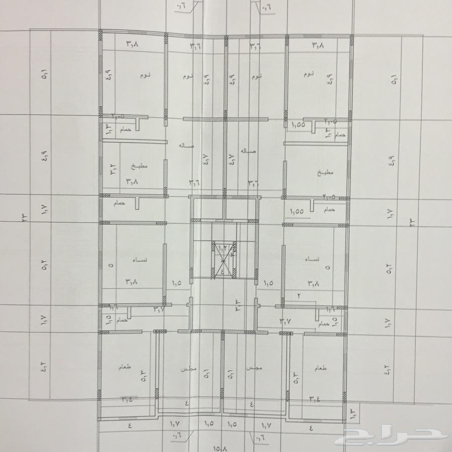 عمارة للببع بجدة كيلو 14 الشمالي