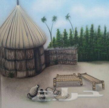 الرسام سليمان السمن