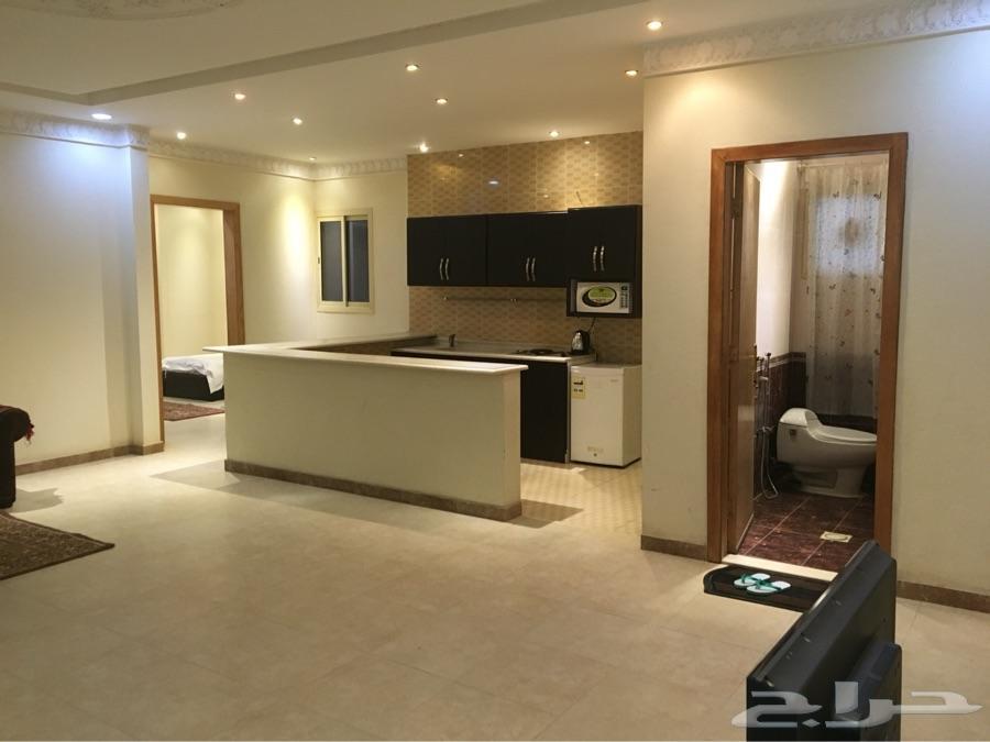 شقة فندقية 99 ريال غرفة وصالة