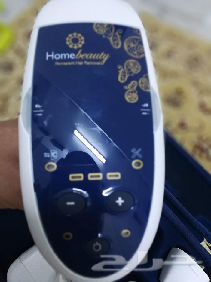 للبيع جهاز إزالة الشعر بالليزر هوم بيوتي