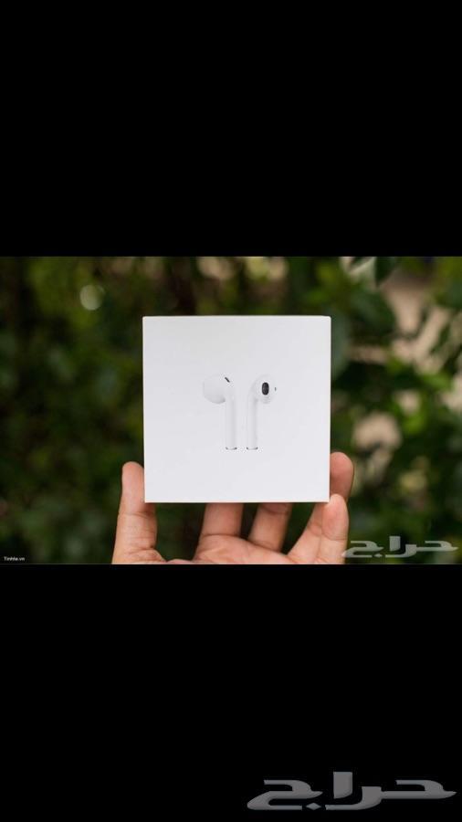 سماعات Airpods درجة اولى وبسعر مغري