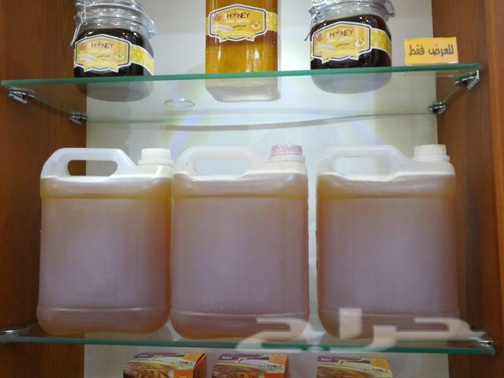 عسل طبيعي سدر بشاوري مفحوص الجالون 400توصيل