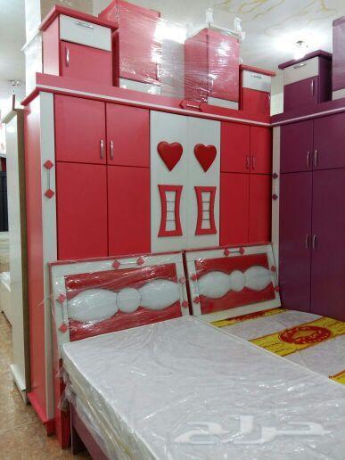 غرف نوم اطفال 2سرير