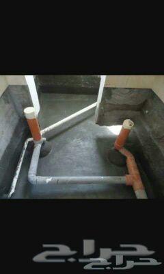 عزل اسطح وخزانات وكشف تسربات وتسليك مجارى