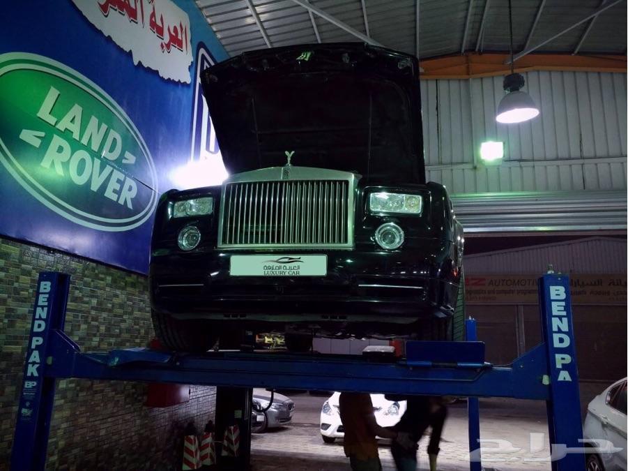 العربة المترفة لصيانة السيارات الاوربية