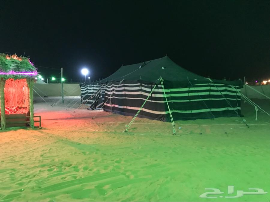 مخيم عرض مغري وسط السبوع 200 قسمين