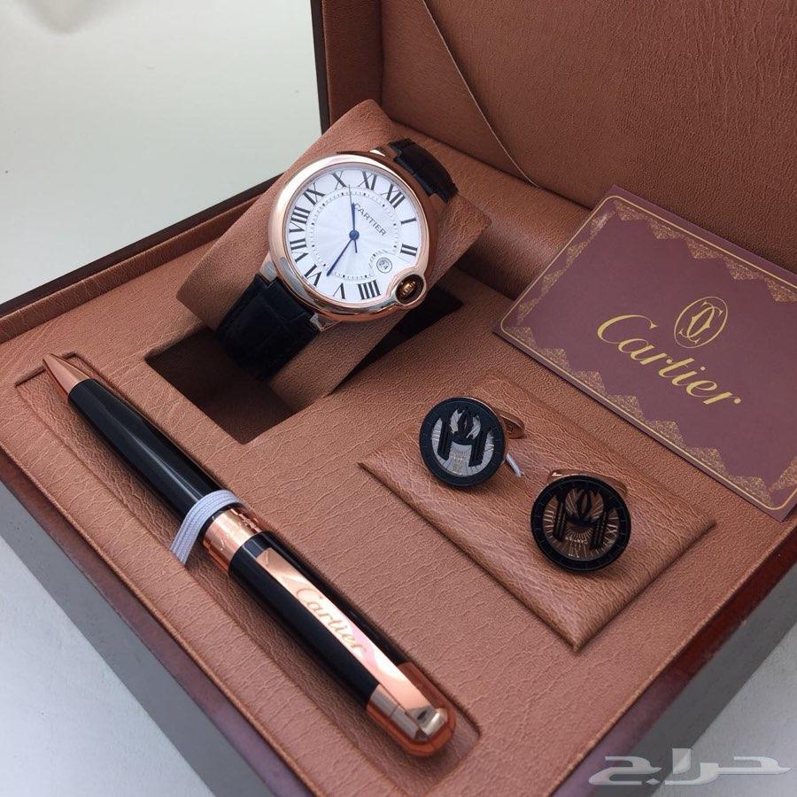 ساعة كارتير بالون جلد بسعر مناسب