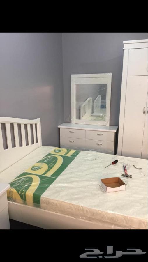 غرف نوم اطفال 2 سرير 1400 تركيب الرياص