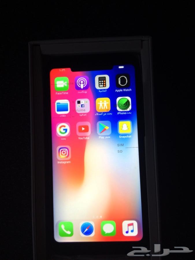 ايفون اكس  rlm iPhone X  rlm  درجه اولي 550ريال