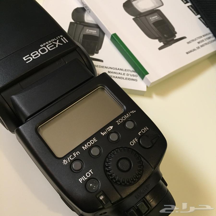 فلاش كانون المطور  canon 580 EX lI