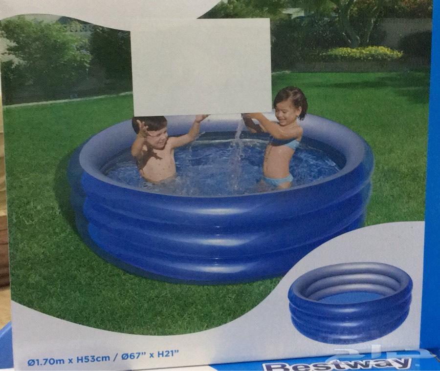 مسبح للصغار ممتع مطاطي وجميل