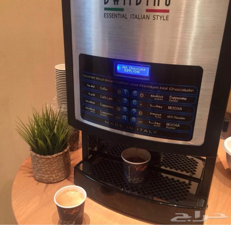 آلة قهوة ب8 نكهات للبيع