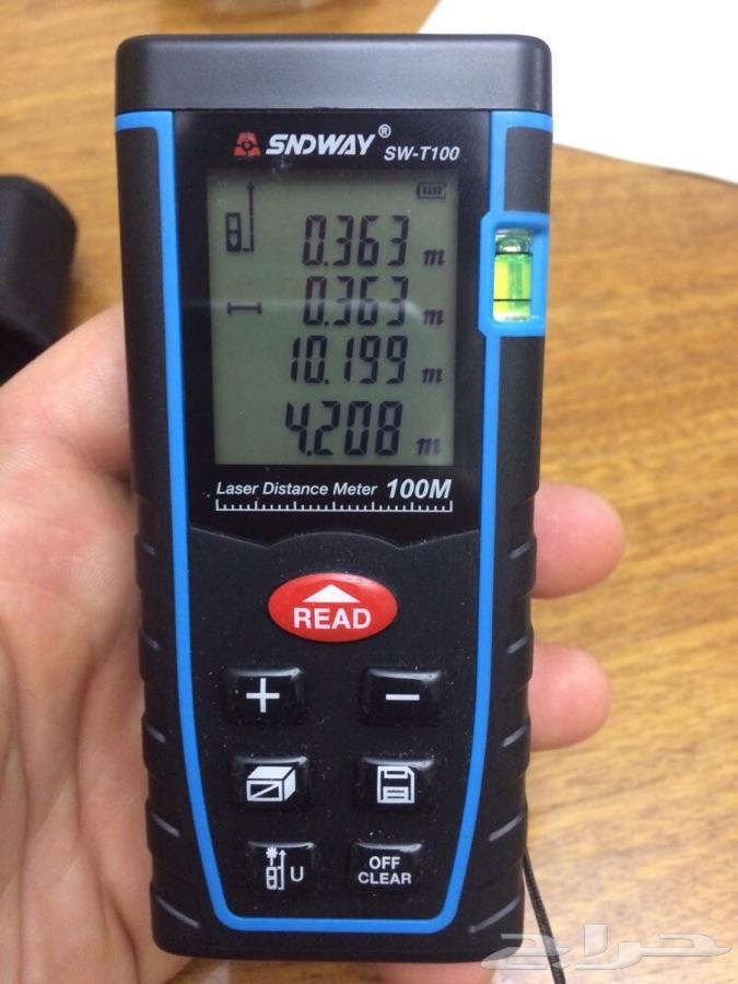 جهاز قياس المسافات بالليزر من سندوي100 م