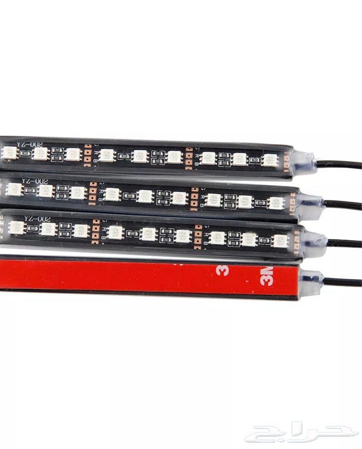 إنارة LED للدعاسات وأرضية السيارة