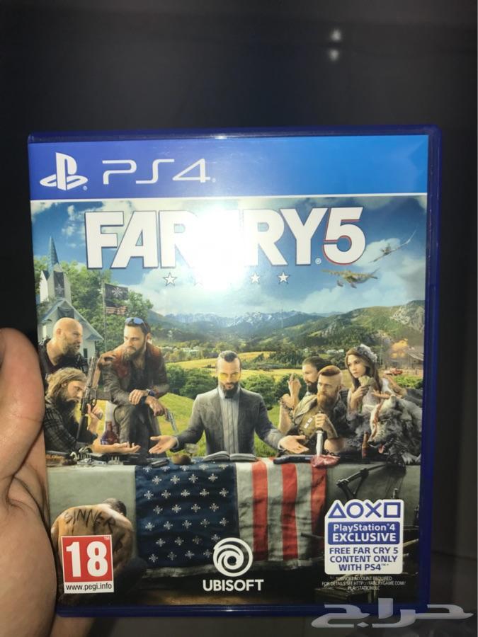 لعبة فار كراي 5   FAR CRY 5 PS4 جدة