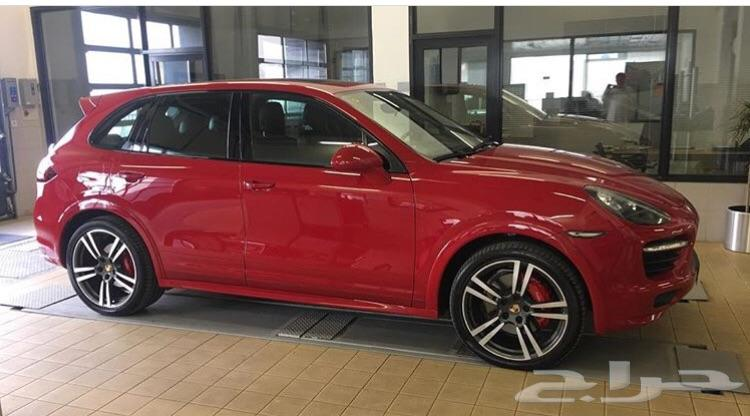 Porsche Cayenne GTS Red Color Model 2014