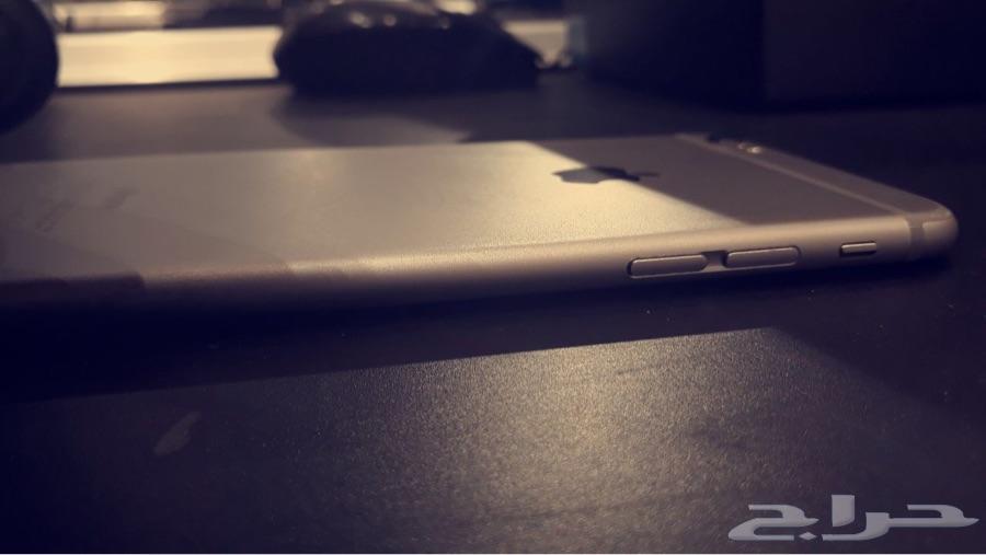 ايفون 6 بلس شبه جديد استخدام تقريبا  سنه