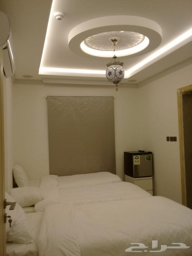 غرف فندقية للإيجار بجوار الحرم الشريف