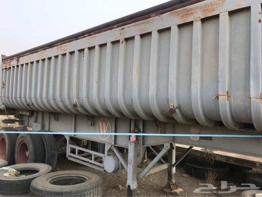 صندوق قلاب تريله 24 متر