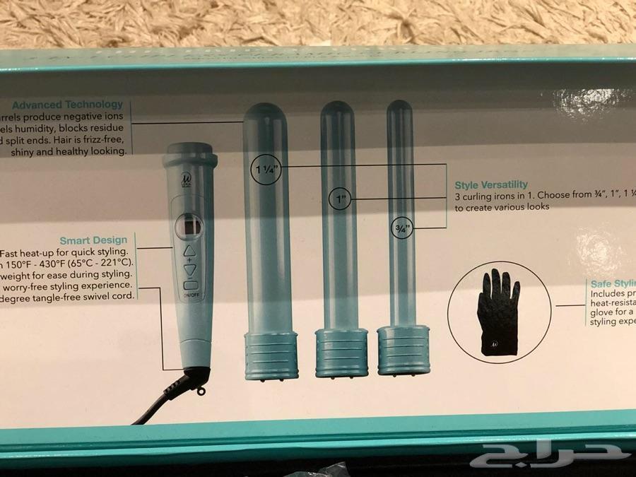 جهاز ويفي للشعر 3 مقاسات - curling iron