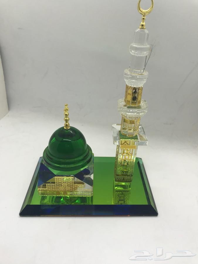 مجسم زجاجي للمسجد النبوي