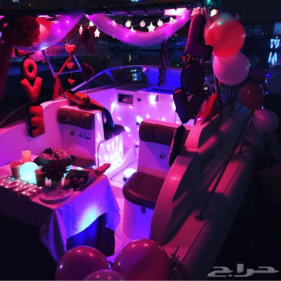 جديدنا تنسيق حفلاتكم على متن اليخت