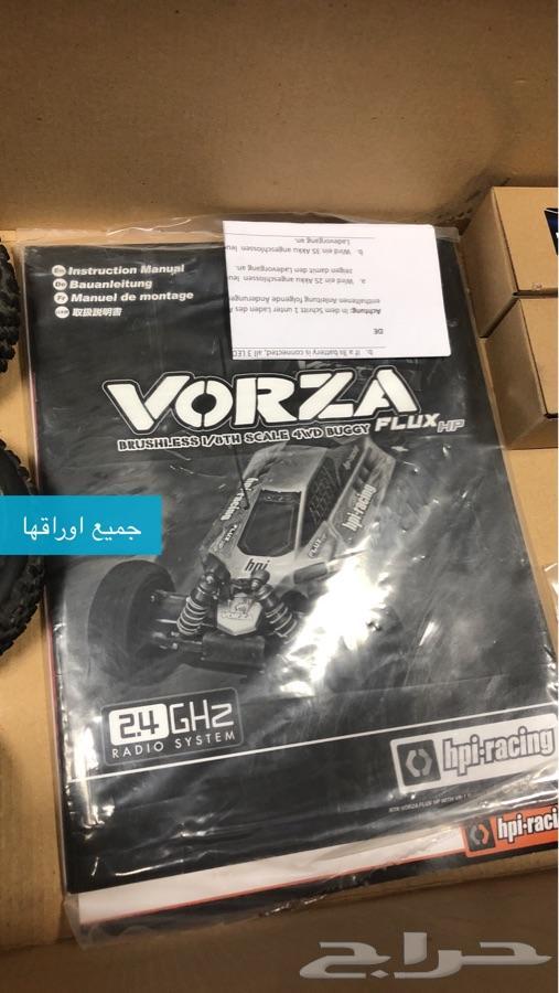 سيارة ريموت كنترول Vorza للتطعيس والسباق