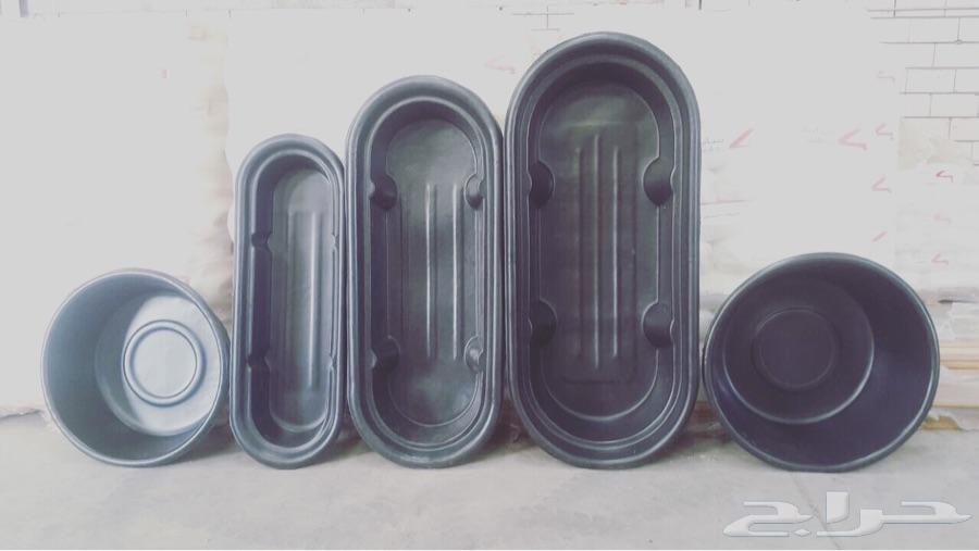 معالف وأحواض بلاستيك مصنع أصول