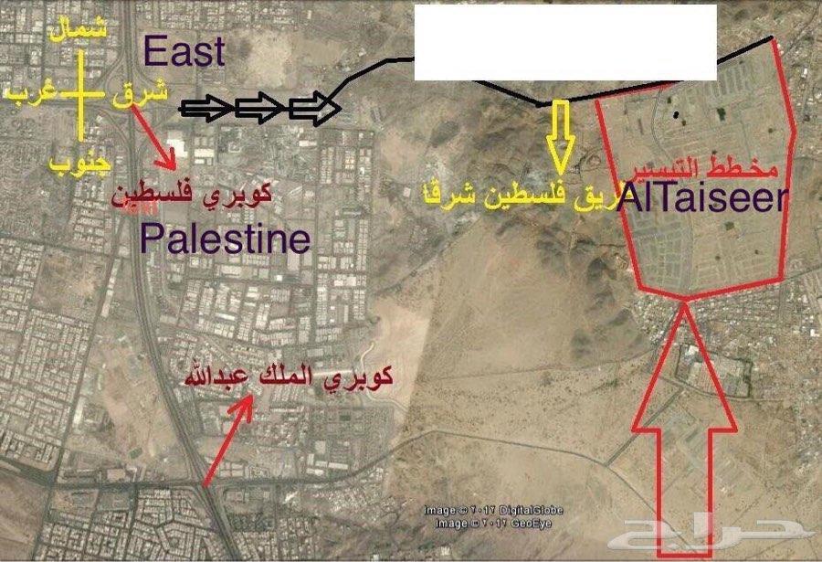 حي التيسير شرق شارع فلسطين