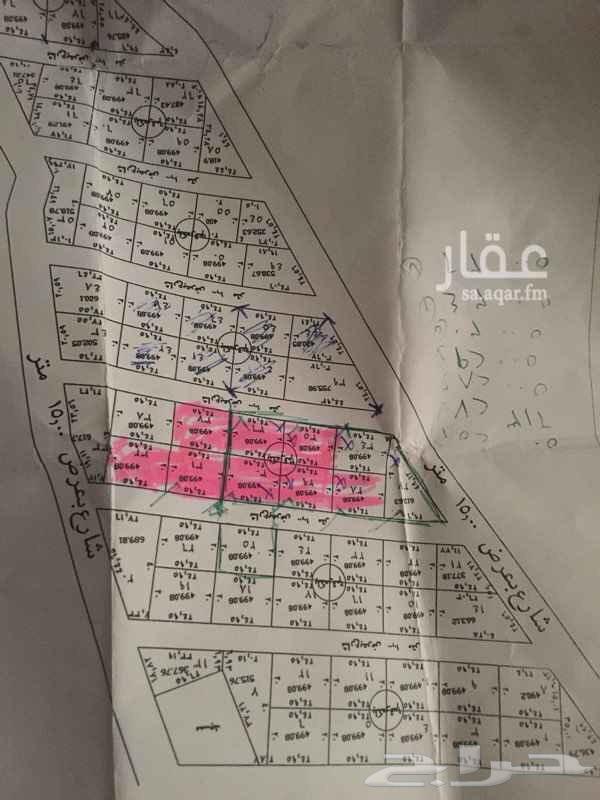للبيع اراضي في بير الغنم خلف مدرسه