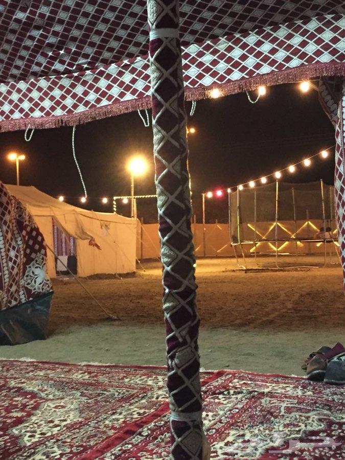 مخيم الرفاهية بأبها