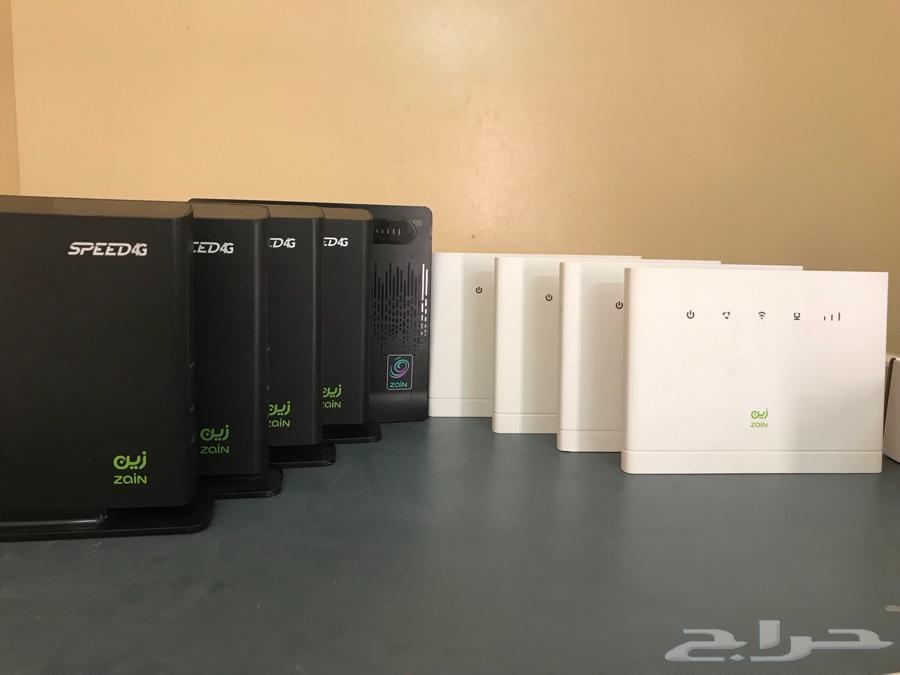 راوتر موبايلي الشبح 4G و4G STC وزين 4G