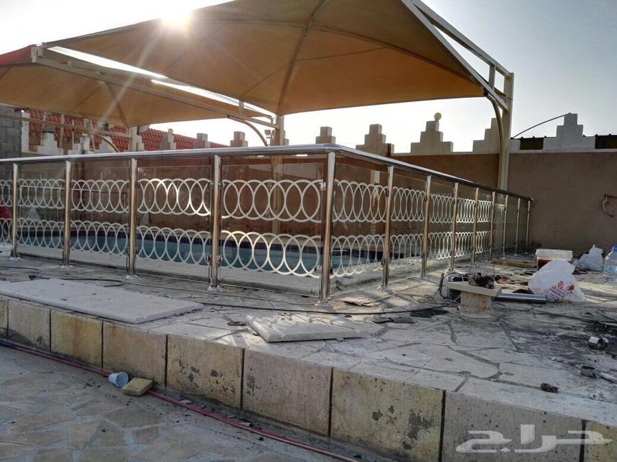 عرض الجمعه درابزين استانلس300 ريال بضمان