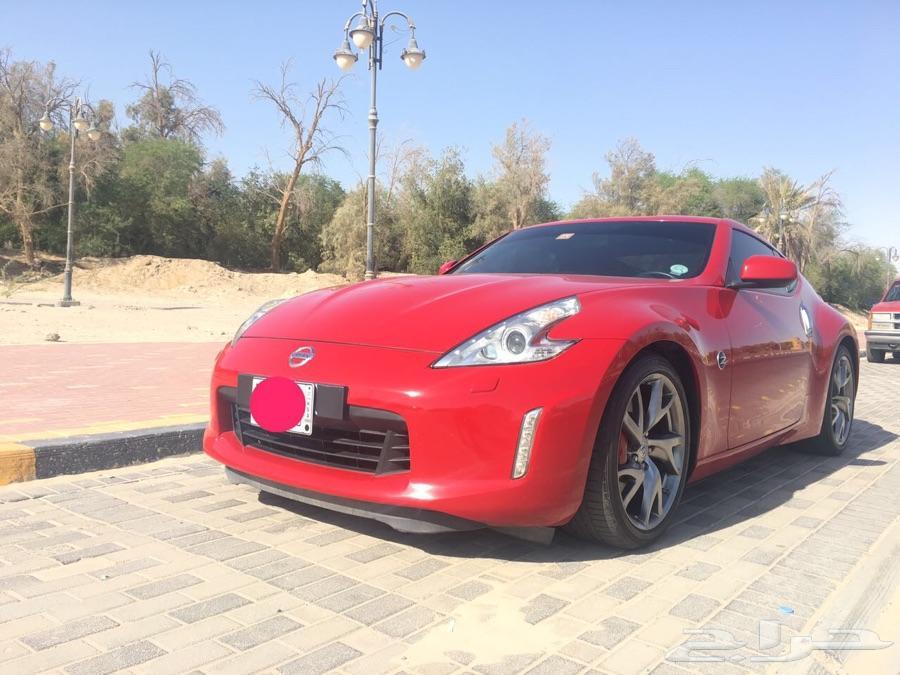 للبيع نيسان زد 2013 370z احمر