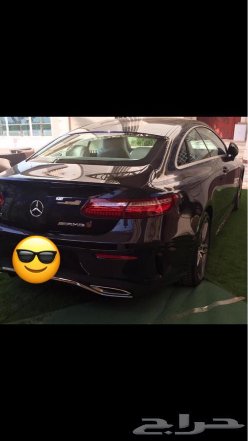 E class coupe 2017 للبيع