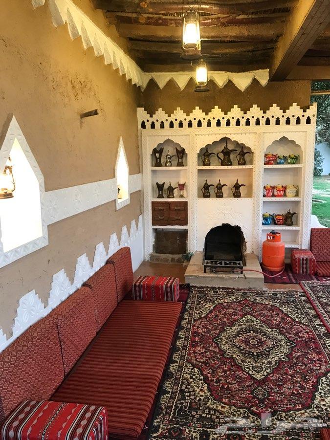استراحة كبيرة قسمين للايجار ايام العيد