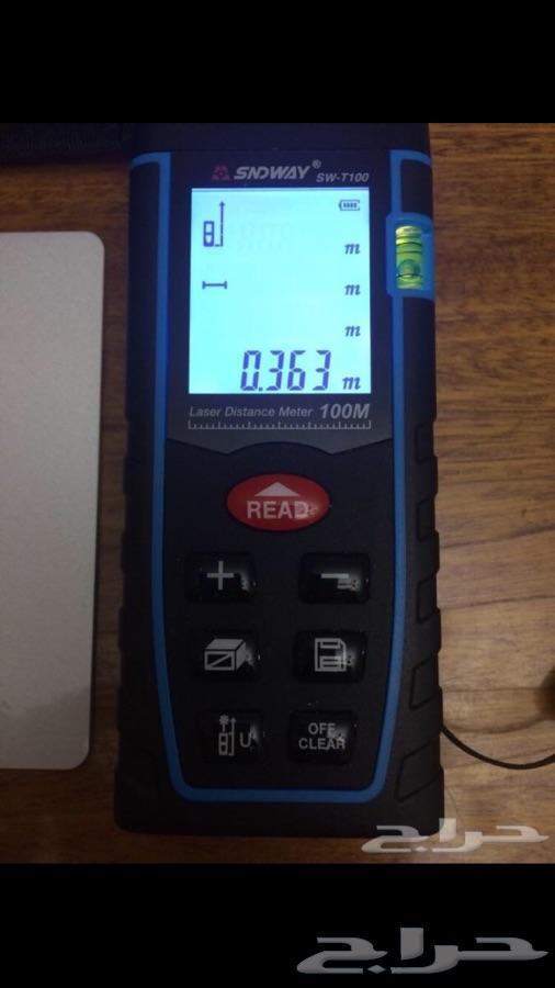 قياس مسافات بالليزر