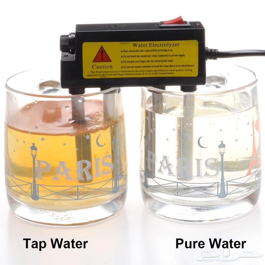 جهاز فصل جزيئات الماء واختبار مدى جودته