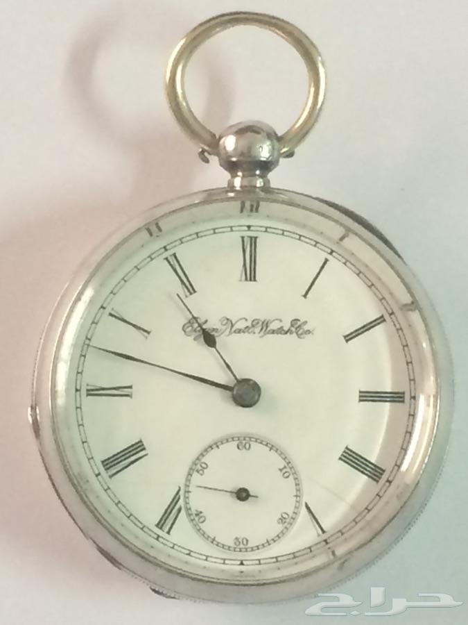 ساعة جيب فضة عمرها 127 عام
