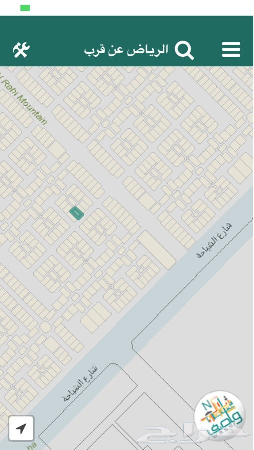 عريض سكنيه قريبه من شارع 100 موقع ممتاز