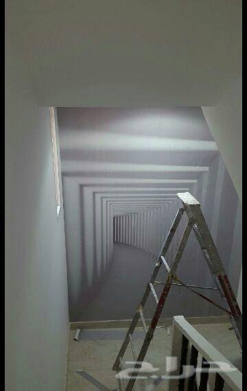 ورق جدران ثلاثي الأبعاد 3D جديد اي شكل مضمون