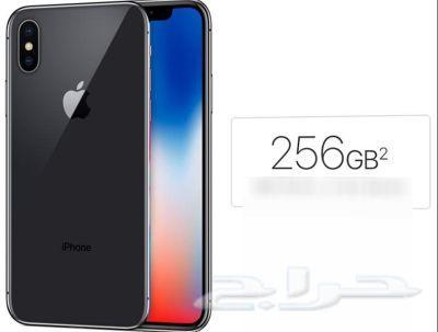 ايفون اكس جديد 256جيجا iPhone   X  256G  new n
