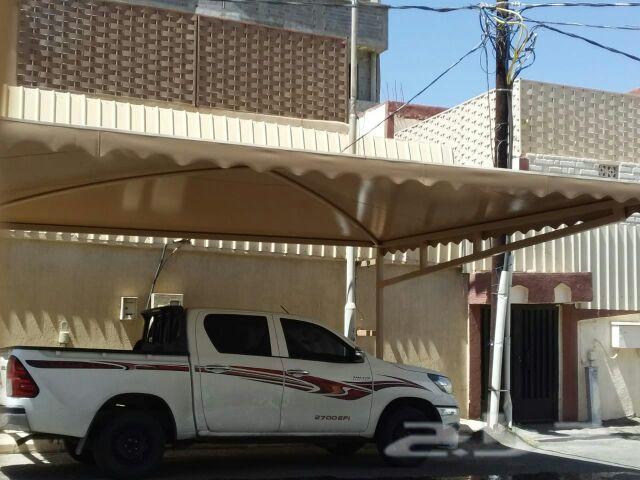 مظلات مضلات وسواتر وجميع اعمال الحداده